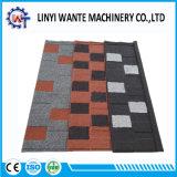 Tuiles enduites de toiture/toit en métal de construction de pierre de bonne qualité de matériau