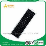 luz de calle solar integrada toda junta de 60watts LED con la batería de litio LiFePO4
