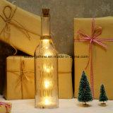 Luz de la botella LED de la luz de las estrellas de los regalos de los días de tarjeta del día de San Valentín del día de fiesta con los amigos de la familia de la cotización