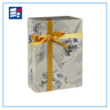 OEM caja de regalo de papel con material personalizado y logotipo