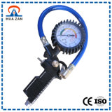 ホースが付いている小型圧力計の製造業者の工場価格のタイヤ空気圧のゲージ