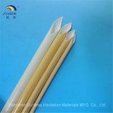 Sleeving revestido da fibra de vidro do poliuretano do verniz de 155 graus