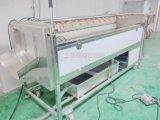 고압 살포 자동적인 감자 당근 타로토란 세척 및 닦는 기계
