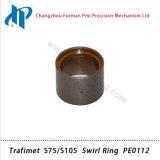 De Ring PE0112 van de Werveling van de Uitrusting van de Verbruiksgoederen van de Scherpe Toorts van het Plasma van Trafimet S75/S105