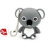 코알라 USB 섬광 드라이브 PVC 동물성 USB 기억 장치 지팡이