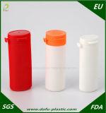 プラスチック帽子が付いている150ml HDPEのプラスチック薬効があるびんのプラスチックびん
