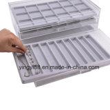 Yyb 아크릴 3 서랍 보석 수송용 포장 상자