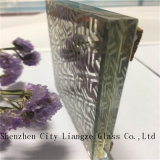 装飾のための12mmカスタマイズされた芸術ガラスまたはサンドイッチガラス和らげられた安全薄板にされた
