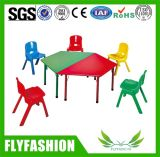 Los niños muebles niños silla y mesa de metal en China fabricantes