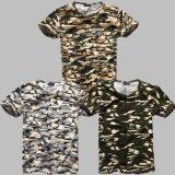 بالجملة رجال [ديغتل] طباعة عسكريّة [ت] قميص
