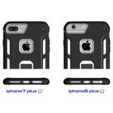 PC 2 TPU в 1 галактике S8 S8 iPhone 7 6 Samsung аргументы за телефона Kickstand гибридной плюс A7 J7