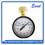 물 테스트를 위한 기계적인 압력 측정하 압력계, 물 시험 부르동관
