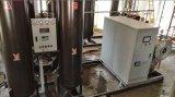 Máquina industrial del ozono en retiro del color de las aguas residuales