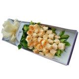 Caixa de embalagem de papel da flor da caixa de embalagem do presente da alta qualidade