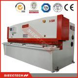 Guillotina CNC cizallas hidráulicas de la placa de aluminio, máquina cortadora CNC