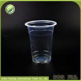 frio 450ml/15oz que bebe copos de chá plásticos descartáveis da bolha com tampas e palhas