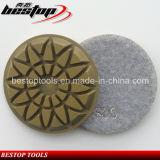 Gancho & almofada abrasiva concreta molhada do diamante do revestimento protetor do laço