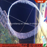 LED Holiday 220V Christmas Icicle Curtain String Light para Decoração de Casamento.
