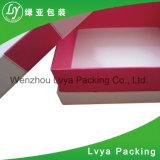 Casella di carta cosmetica impaccante cosmetica su ordinazione di marca della casella