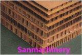 Panneau de papier Honeycomb Ligne de plastification