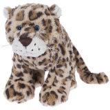 Brinquedo feito sob encomenda enchido do luxuoso do leopardo