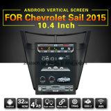 Coche grande elegante DVD de la pantalla para la vela de Chevrolet, radio del GPS
