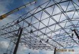 Grade de aço do espaço pré-fabricado elegante para a estrutura de aço da grade da oficina de aço de aço da oficina