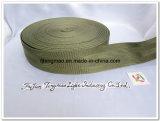 """1.25 """" cinghie di nylon verdi della tessitura"""
