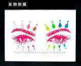 De nieuwste Sticker van de Diamant van het Bergkristal van het Festival van de Rots van het Oog van de Kleur van het Neon voor Partij (S026)