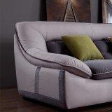 ホテルのベッド部屋の家具Fb1137のための高品質のフランネルファブリックが付いている現代デザイン部門別のソファー