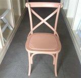 Cruz de resina Cadeira de volta para a sala de casamento