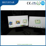 Sistemas de inspección de las radiografías con los monitores dobles