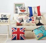 Coperchio del sofà stampato cotone del commercio all'ingrosso della Grecia 100%