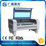 Máquina de corte de fibra de metal de láser de madera