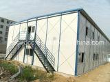 Casa prefabricada de dos pisos popular
