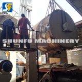 Pequeña máquina del reciclaje inútil de la exportación que hace que el papel higiénico rueda las máquinas de la fabricación