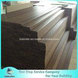 Sitio de bambú pesado tejido hilo al aire libre de bambú 7 del chalet del suelo del Decking