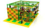 Do curso elevado da corda de 2016 miúdos atrativos populares equipamento interno do campo de jogos da aventura