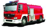 FoamおよびWater Typeの4X2 Driving TypeのSinotruk Brand Fire Truck