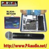 Microphone sans fil (SLX24/beta58)