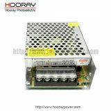 Fonte de alimentação industrial da fonte de alimentação 48W do CCTV da modalidade 5V 10A do interruptor da caixa do metal 50W 12V4.17A 24V2.08A