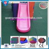 De RubberBevloering van het Gebruik van de gymnastiek/Vierkante RubberTegels/de RubberBevloering van de Gymnastiek