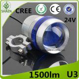 Linterna de la motocicleta LED del CREE 30W U3 del precio de fábrica