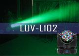 DJ-apparatuur bewegende koplampen