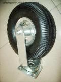 250mm Fußrollen-Eisen PU-Rad-industrielle Rad-Fußrolle