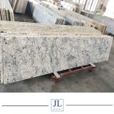 平板のタイルまたはカウンタートップまたは床タイルの価格のためのローズの自然な石造りの白い花こう岩