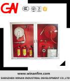 Коробка жидкостного огнетушителя/шкаф пожара тоннеля для вьюрка шланга