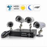 4 Système de Surveillance de l'appareil photo - 4 caméras IP de plein air - 500GO (JH_CCTV_158)