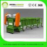 Planta de reciclagem de pneu usada montada para combustível para venda