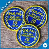 Tecidos tecidos baratos personalizada do emblema distintivo e patch